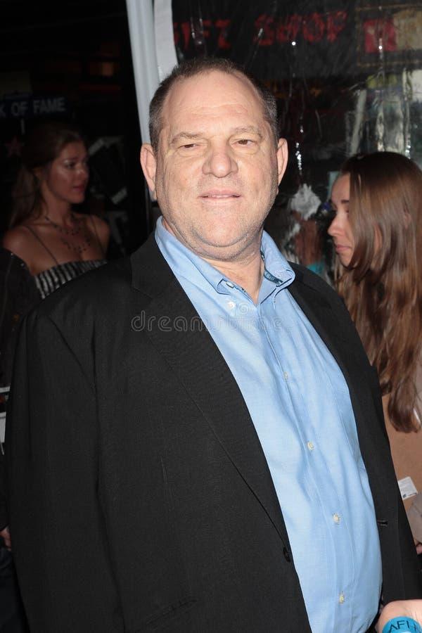 Harvey Weinstein foto de stock