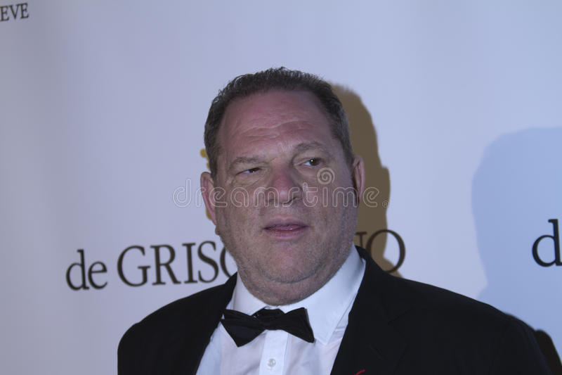 Harvey Weinstein royalty free stock image