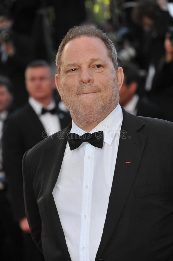 Harvey Weinstein. CANNES, FRANCE - MAY 23, 2013: Harvey Weinstein at the premiere of The Immigrant at the 66th Festival de Cannes stock photography