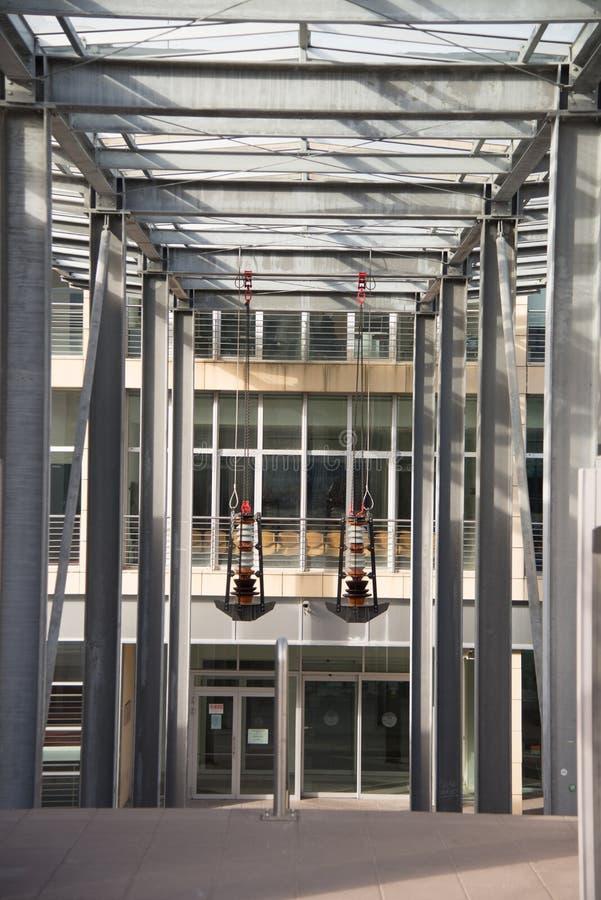 Hasłowy inżynieria fakultet w Trento, Włochy obrazy stock