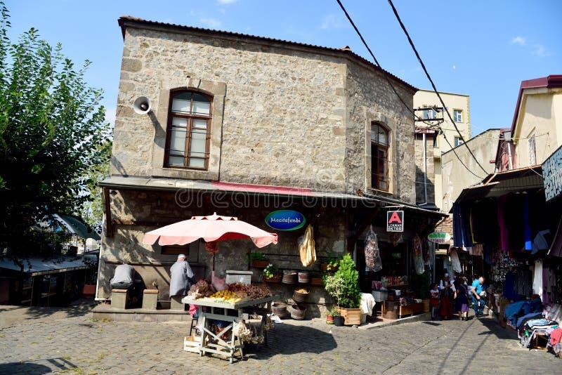 Hasanagamoskee in Trabzon, Turkije royalty-vrije stock foto