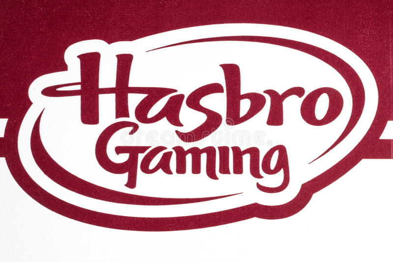 Hasbro-Spiel-Logo stockfoto