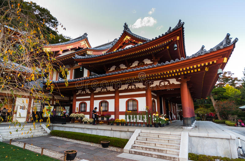 Hase-dera w Kamakura, Japonia fotografia royalty free
