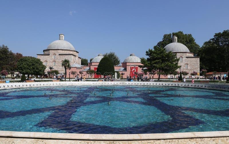 Haseki Hurrem sułtanu skąpanie w Istanbuł mieście zdjęcia royalty free