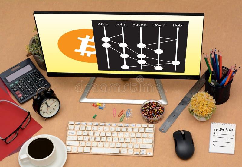 Hashgraph很快将被发射的新的Cryptocurrency 免版税图库摄影