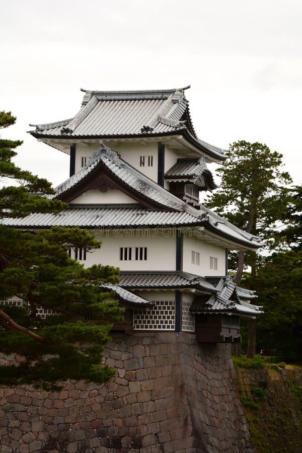 Hashizume星期一Tsuzuki Yagura城楼 今池城堡 ?? ?? 库存照片