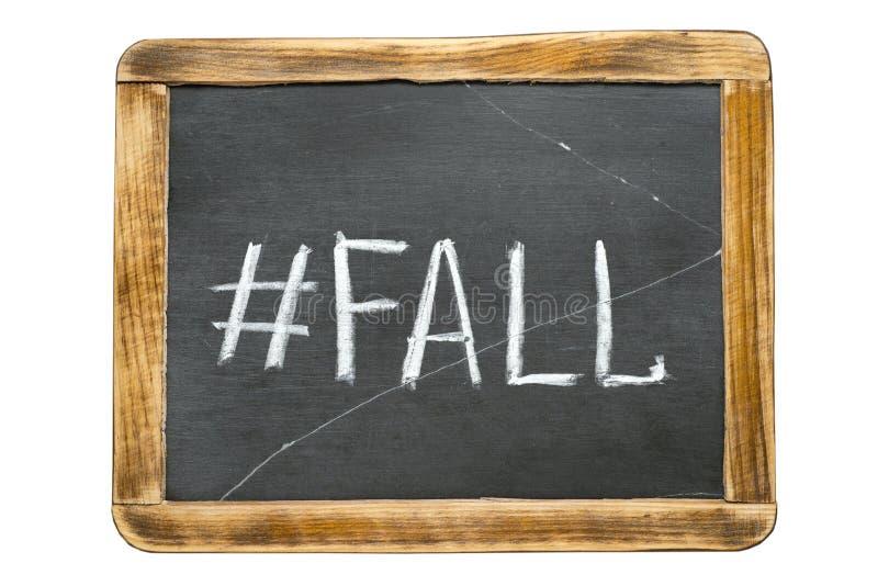 Hashtag fr падения стоковые фото