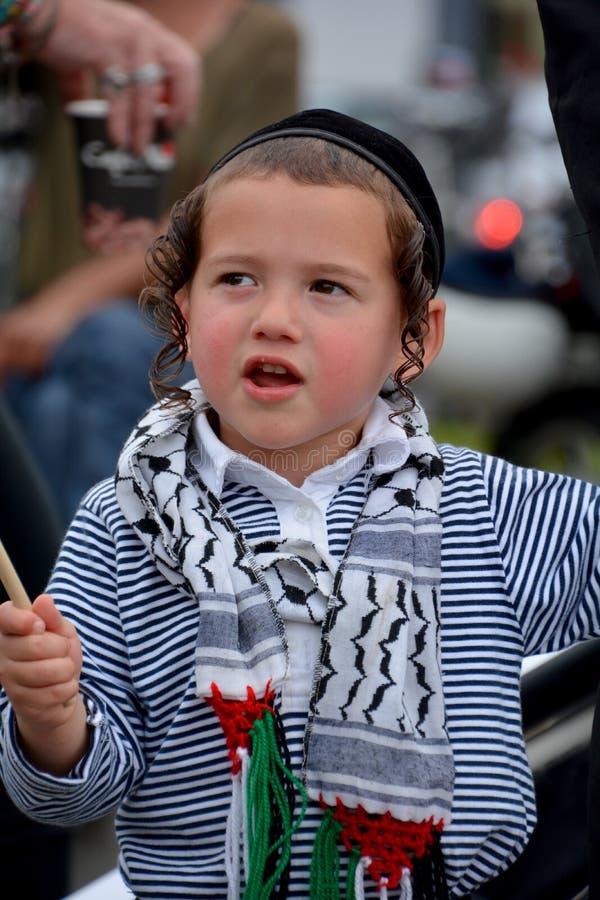Hasidic ortodoks zdjęcie stock