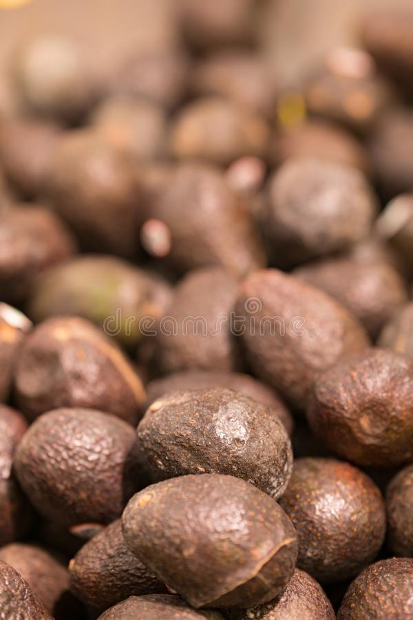 Hass avacado background vertical photo stock image