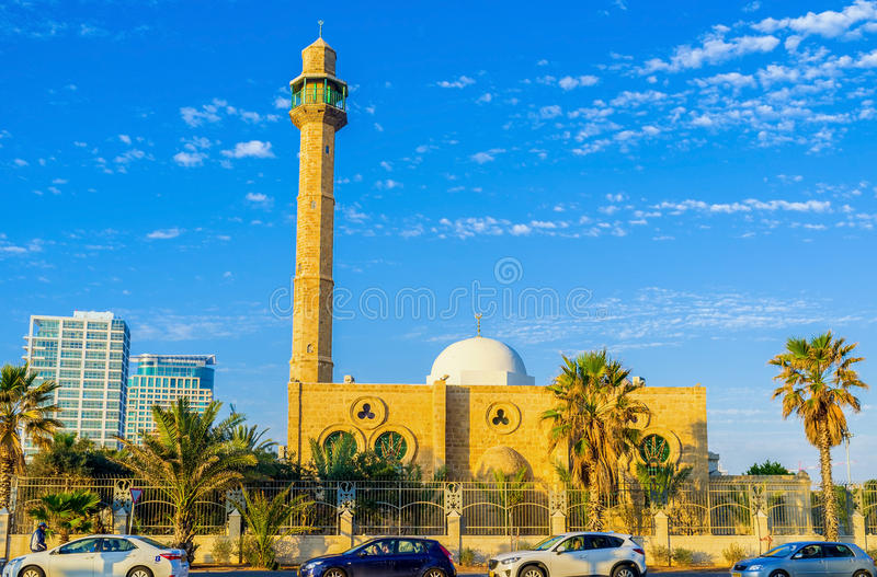 Hassan Bek Mosque stockbilder