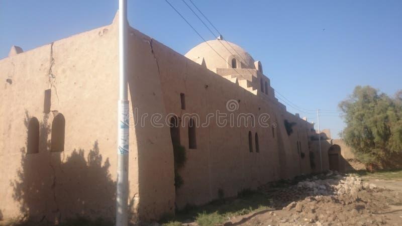 Hassan Fathy Mosque fotografia stock