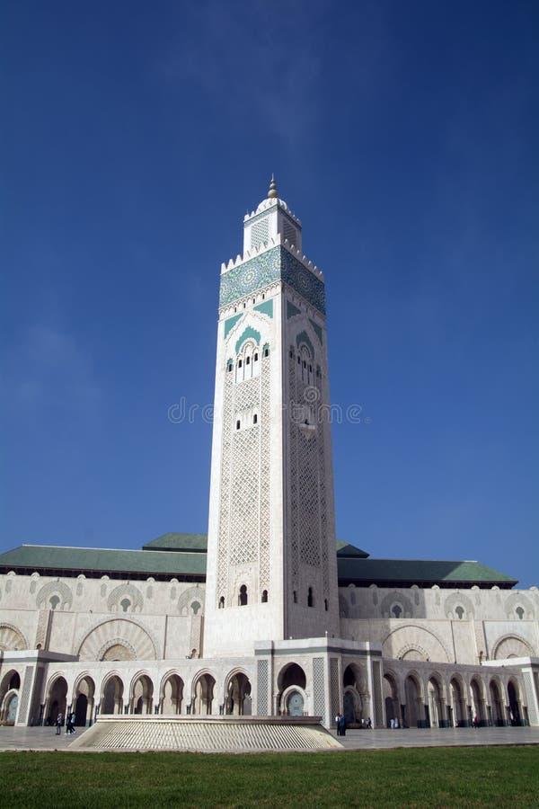 Hassan II moské - Casablanca - Marocko fotografering för bildbyråer
