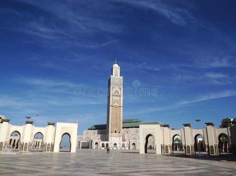 Hassan II moskee, Casablanca stock afbeeldingen