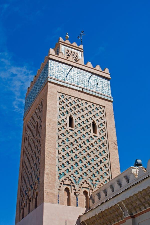 Hassan II Moskee in Casablanca stock afbeeldingen