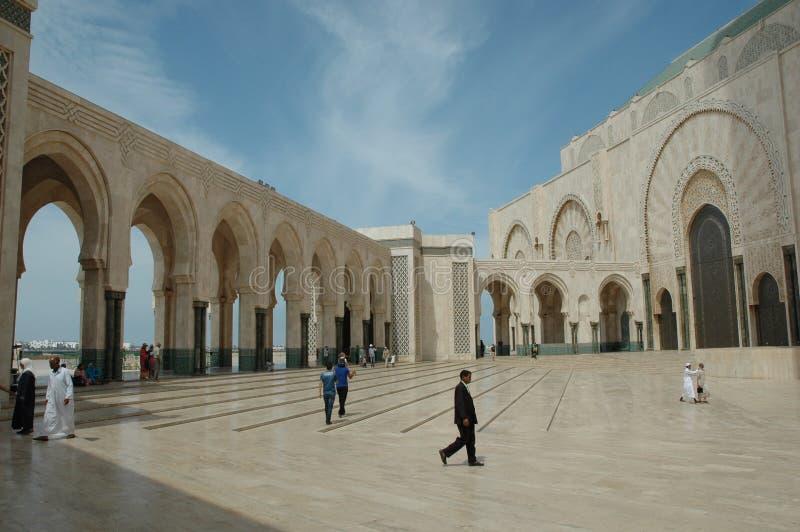 Hassan II Moskee, Casablanca, Marokko stock afbeeldingen