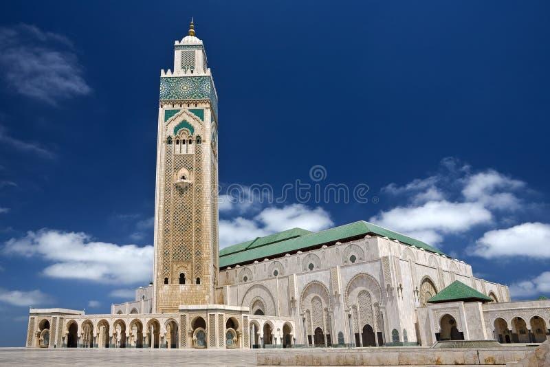 Hassan II Mosque stock images