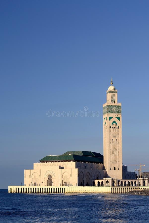 Hassan II mosque in Casablanca stock photography