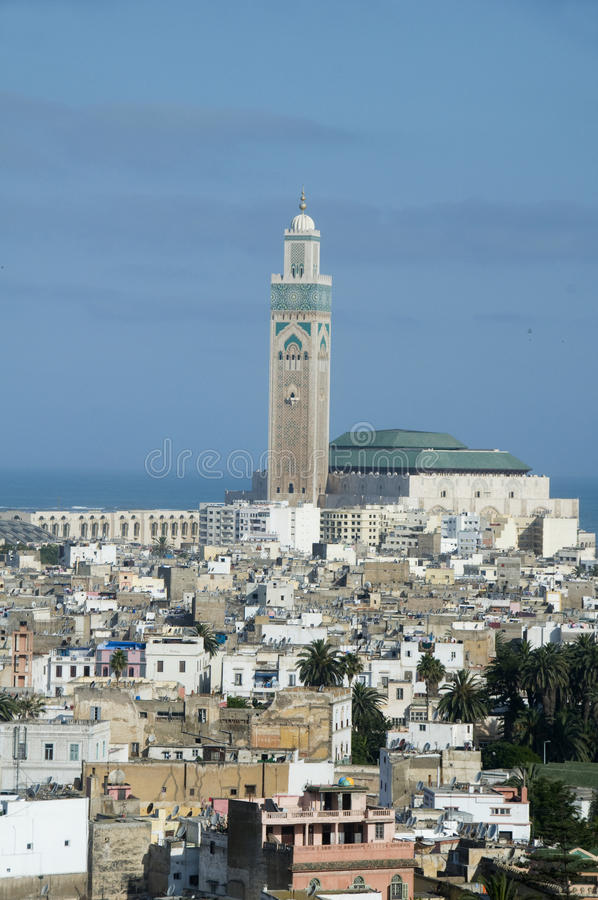 Download Hassan II Mosque Cityscape View Casablanca Morocco Royalty Free Stock Photos - Image: 10098008