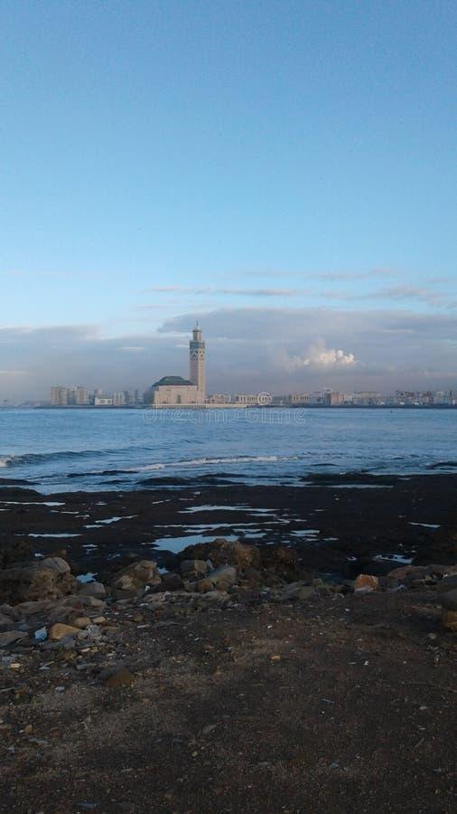 Hassan || mosquée au Maroc images stock