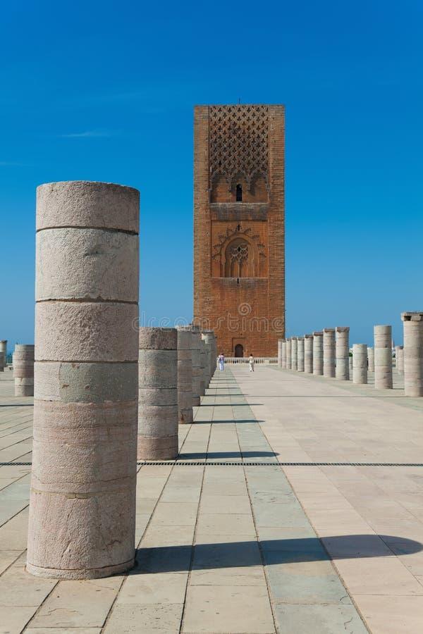 Hassan Tower royalty-vrije stock fotografie