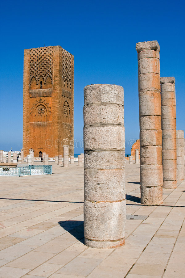 Download The Hassan Tower. Royalty Free Stock Photography - Image: 6045887