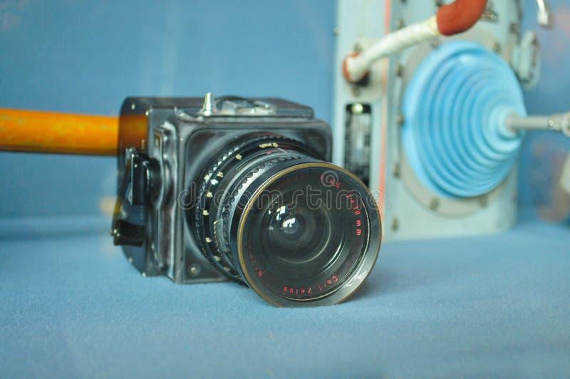 Hasselblad kamera używać w księżyc lądowania misjach fotografia royalty free