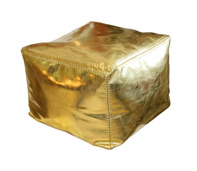 Hassock do ouro foto de stock royalty free