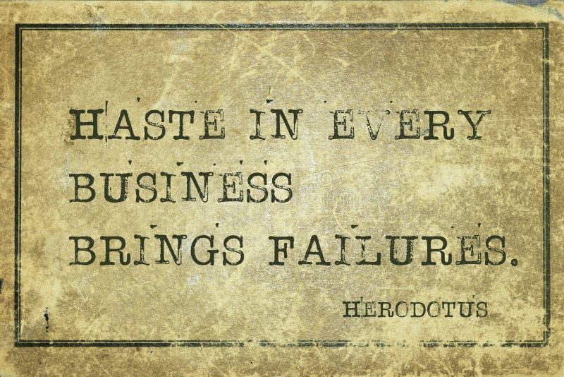 Hast Herodotus arkivbild