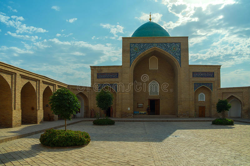 Hast Imam Tashkent royaltyfri foto