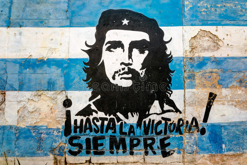 Hasta la Victoria Siempre royalty free stock image