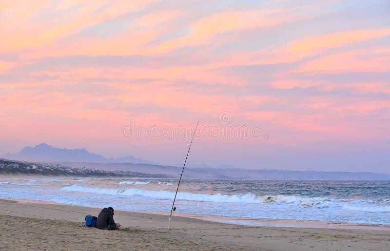 Haste de pesca só fotos de stock