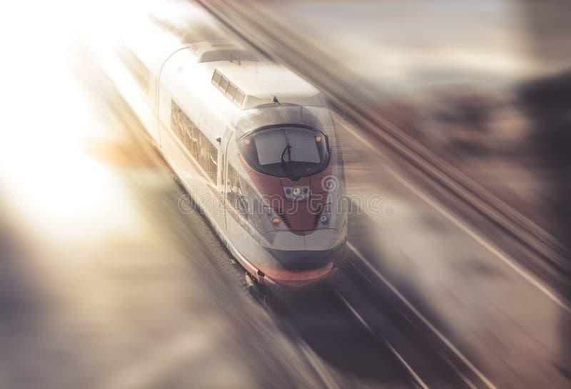 Hastighet av drevresanden arkivfoto