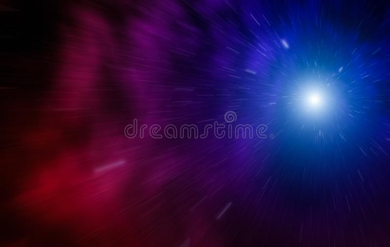 Hastighet av ljus royaltyfria foton