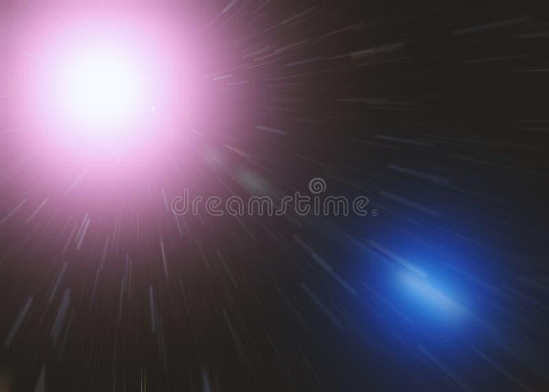 Hastighet av ljus royaltyfri bild