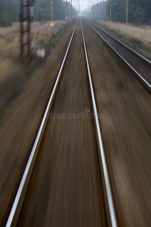 hastighet för stångvägsimulering royaltyfri bild