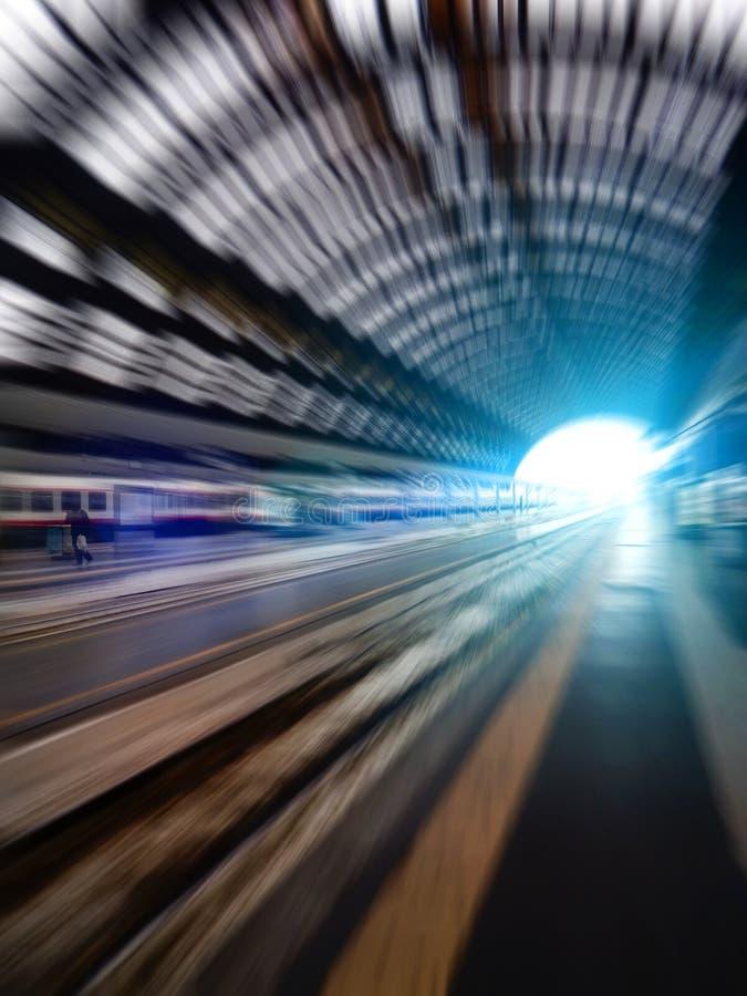 Hastighetsstadsliv - begrepp royaltyfri foto