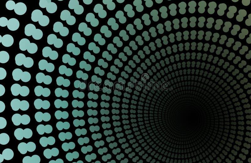 hastighetswarp royaltyfri illustrationer
