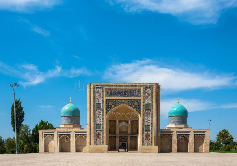 Hastimommoskee in Tashkent, Oezbekistan royalty-vrije stock foto's