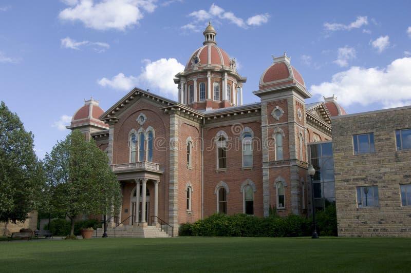 hastings Минесота здание муниципалитет стоковые изображения