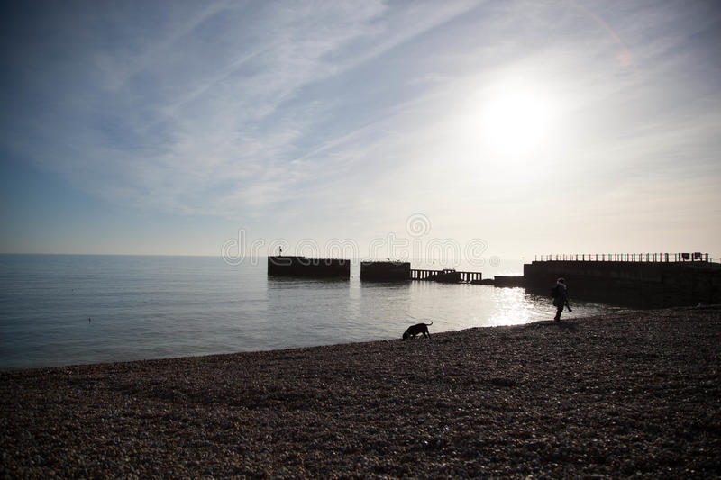 Hastings Daylight royalty free stock image