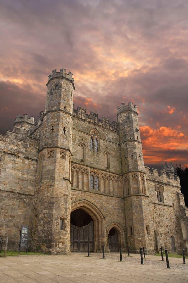 Hastings Kampf-Abtei lizenzfreies stockfoto