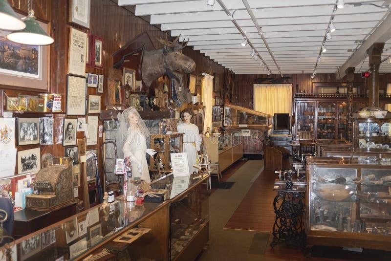 Hastings młynu sklep jest starym budynkiem w Vancouver obraz stock