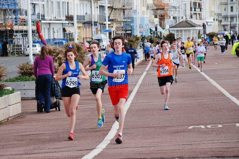 Hastings Mini Run royalty-vrije stock foto's