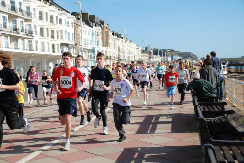 Hastings Minilack-läufer stockbilder