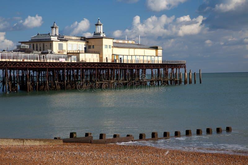 Download Hastings Pier stock image. Image of seaside, derelict - 16264783