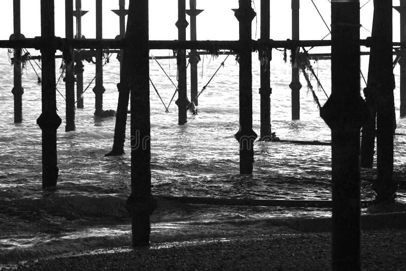Hastings-Pier lizenzfreies stockfoto