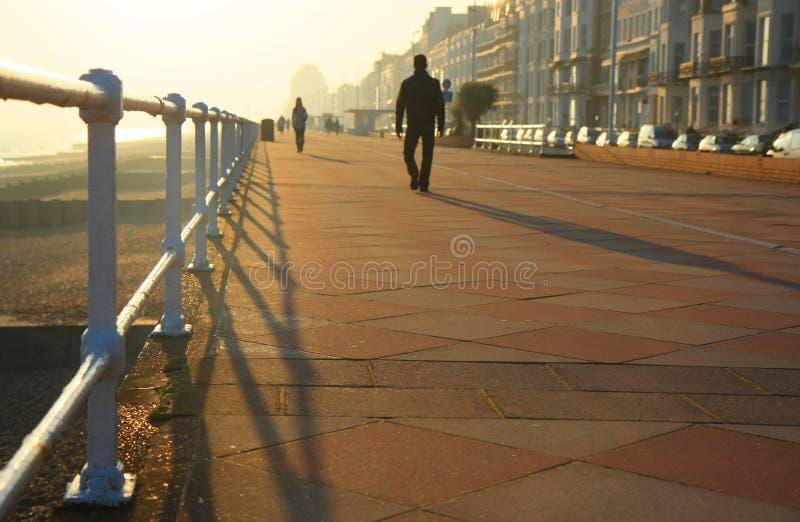 Hastings promenad royaltyfria foton