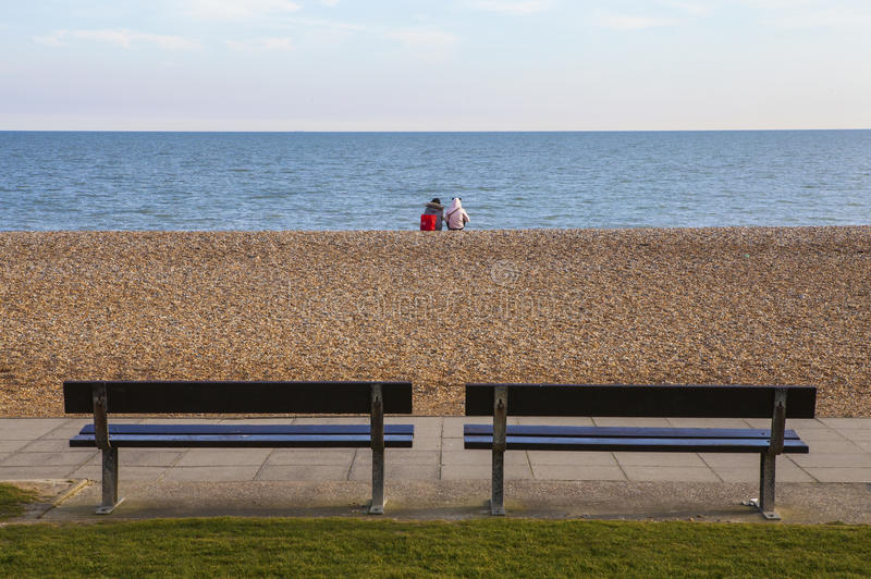 Hastings Seafront stock photo