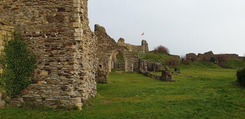 Hastings slott arkivfoto