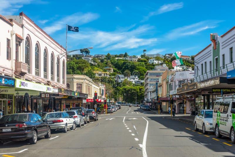 Hastings ST Napier Νέα Ζηλανδία στοκ εικόνα